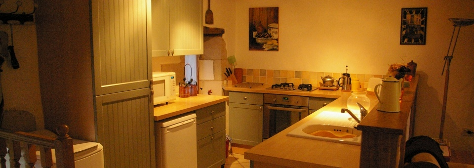 ...and a fully equipped kitchen for all your needs